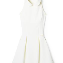 New (Gwyneth Paltrow–approved) brand Hedge is angling itself as tennis attire that works on and off the court. The 14-piece collection includes lots of girly, flattering cuts like the collared dress shown here.