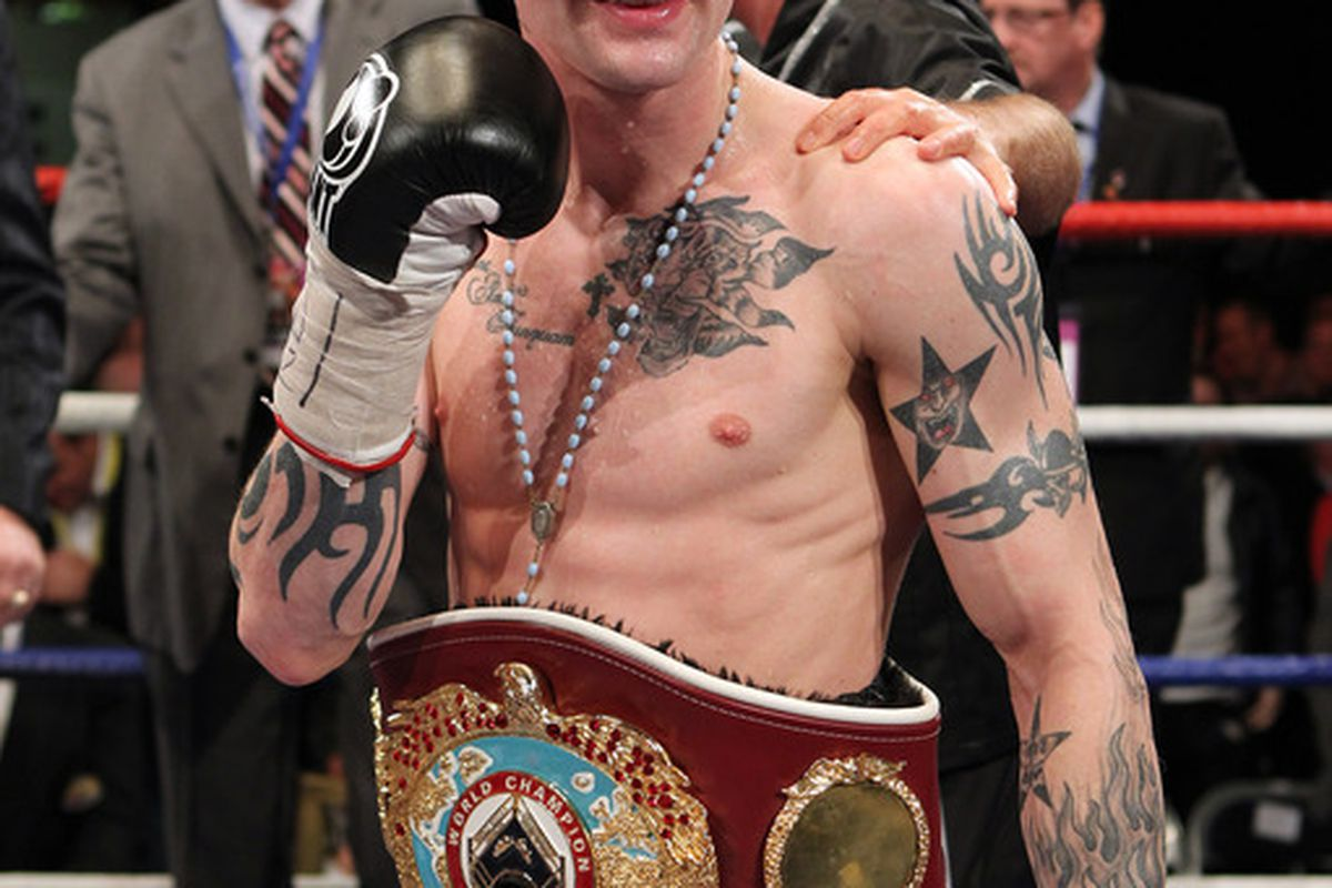 Ricky Burns could be facing American contender Adrien Broner next. (Photo by Ian MacNicol/Getty Images)