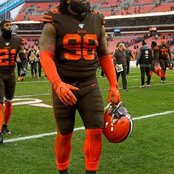 March 2019: The big free agent signing that Cleveland made was DT Sheldon Richardson, showing a continued effort to vastly improve the team's defensive line. In other free agent news, tight end Darren Fells was released so the team could instead sign Demetrius Harris.