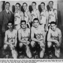 1947-1948: Waterloo Pro-Hawks (PBLA)