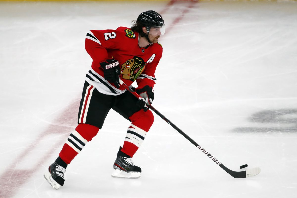 Duncan Keith's individual shot attempts shot way up in the Blackhawks-Blue Jackets series.