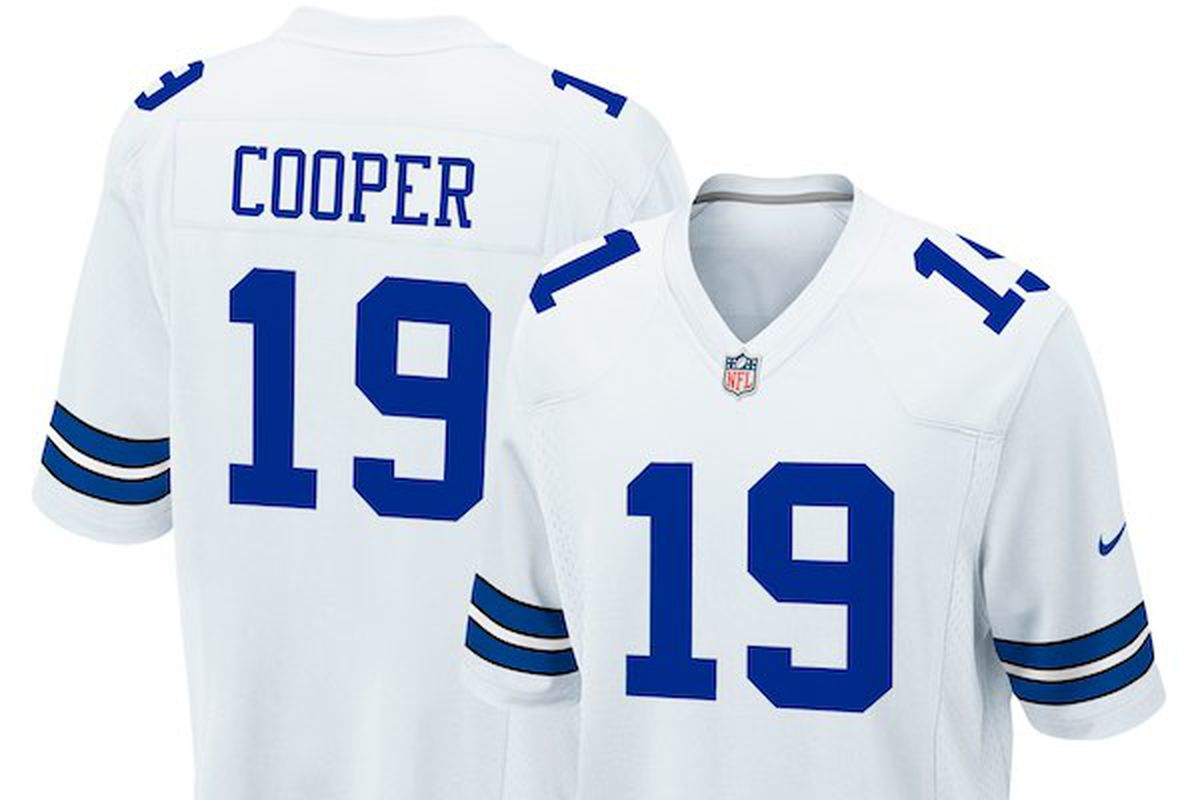 3e5127267 Amari Cooper's Cowboys jersey and apparel have already dropped