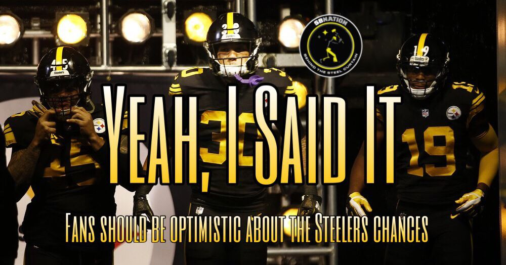 Podcast: Why Steelers fans should be optimistic about the Steelers' chances in 2019