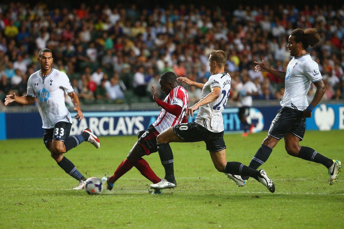 Cabral scores the equaliser against Spurs