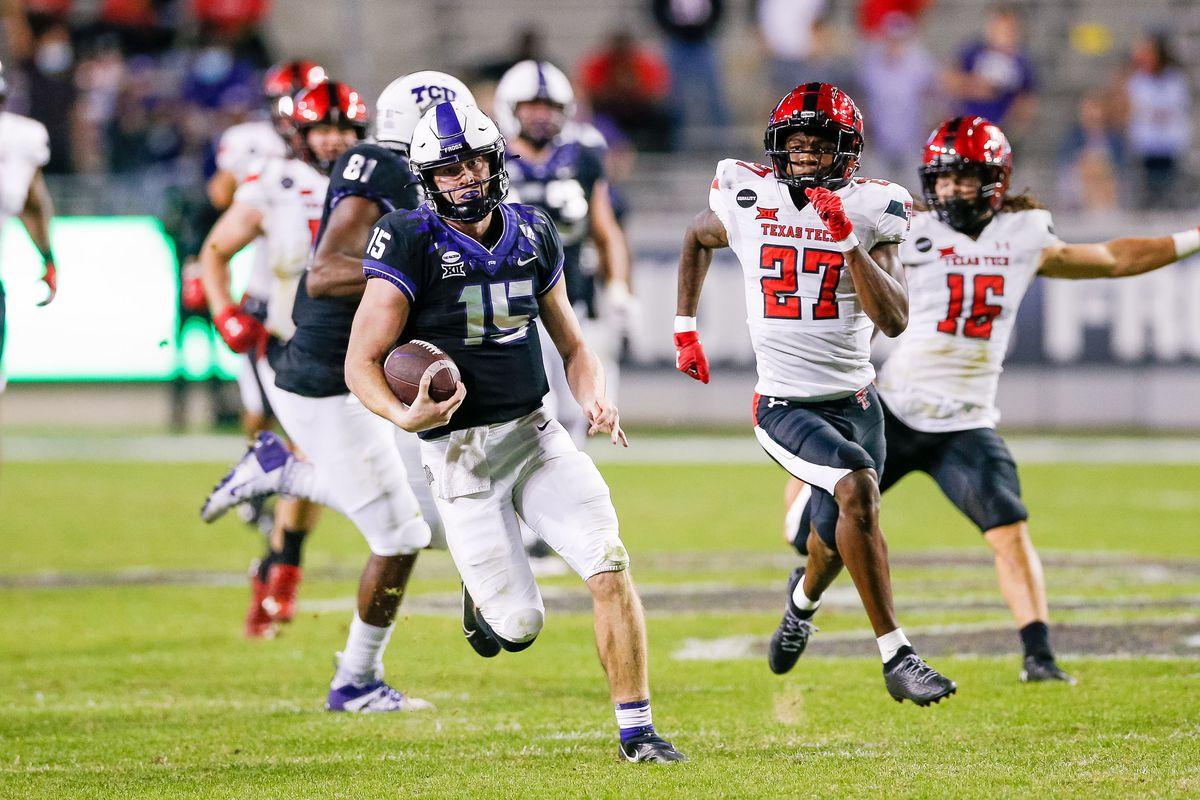 NCAA Football: Texas Tech at Texas Christian