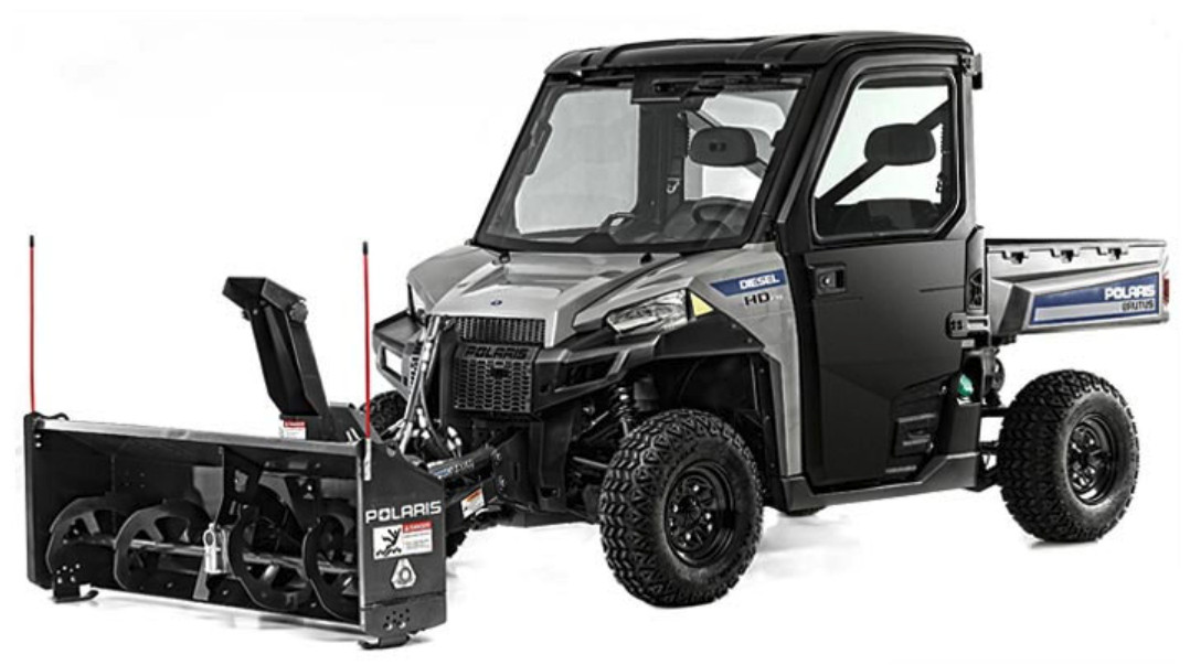 Ald. Marty Quinn spent $24,992 of his 2015 aldermanic expense allowance to purchase a Polaris Brutus HD PTO Deluxe like this one. He says he uses it to plow snow off sidewalks for senior citizens in the 13th Ward. | Polaris.com photo