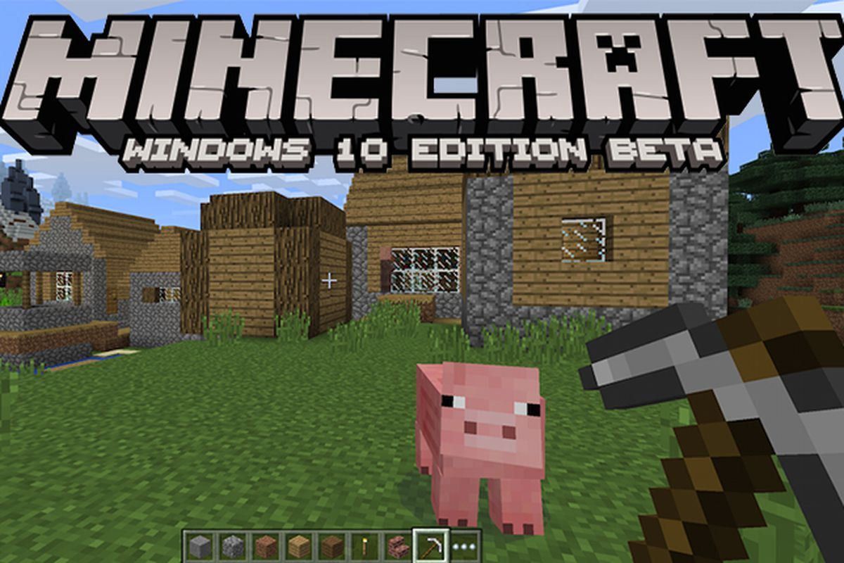 Minecraft for windows 10 beta arrives on july 29th launch day the microsoft is bringing a whole new version of minecraft to windows 10 later this month to celebrate the launch of windows 10 on july 29th a minecraft ccuart Image collections