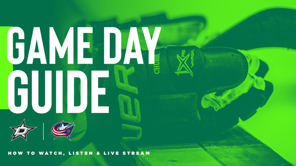 Dallas Stars vs Columbus Blue Jackets game day guide