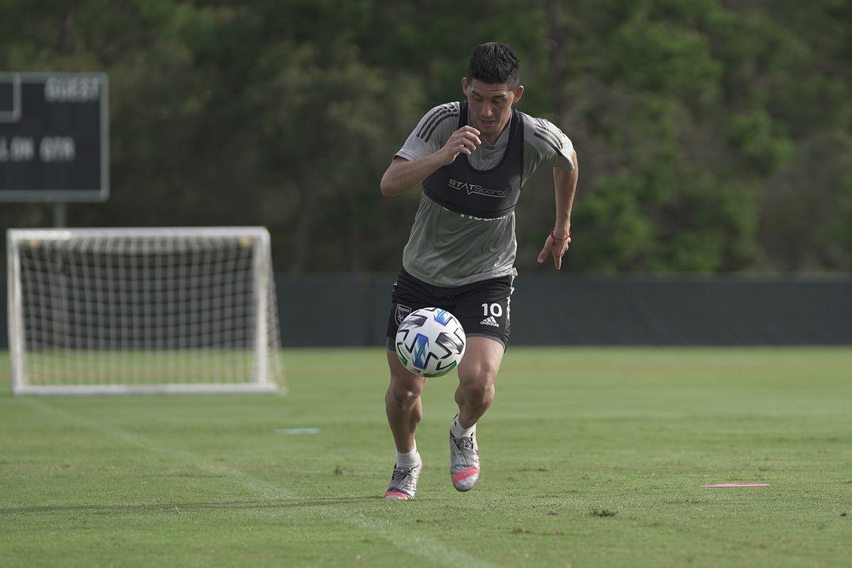 MLS: San Jose Earthquakes Training