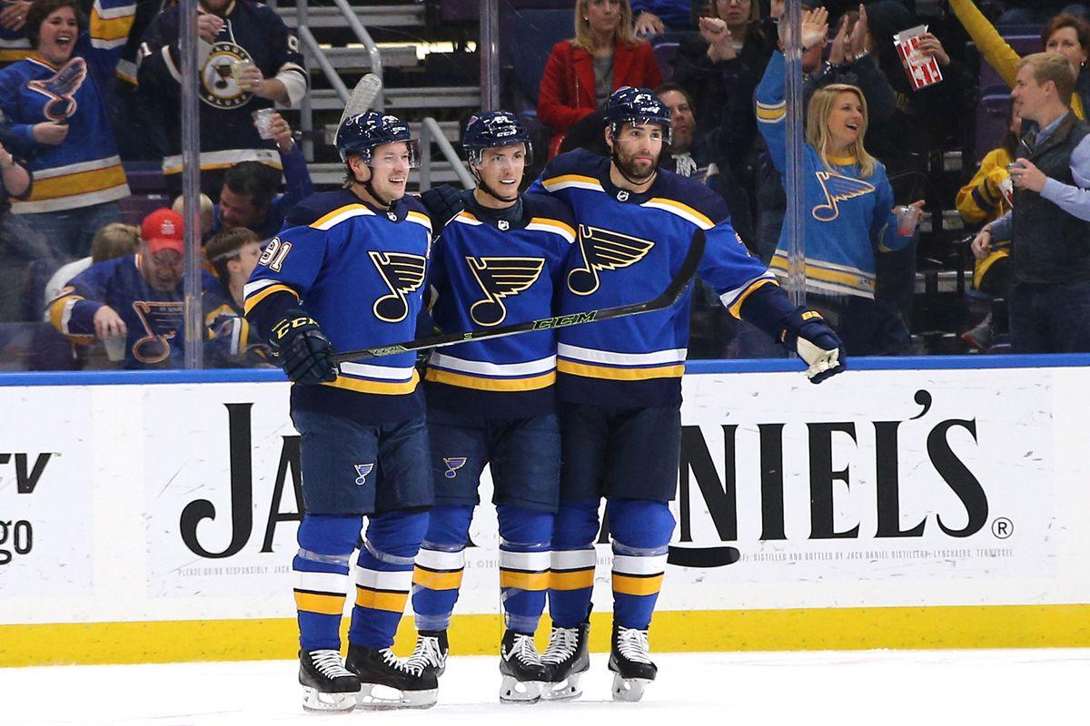 NHL: Columbus Blue Jackets at St. Louis Blues