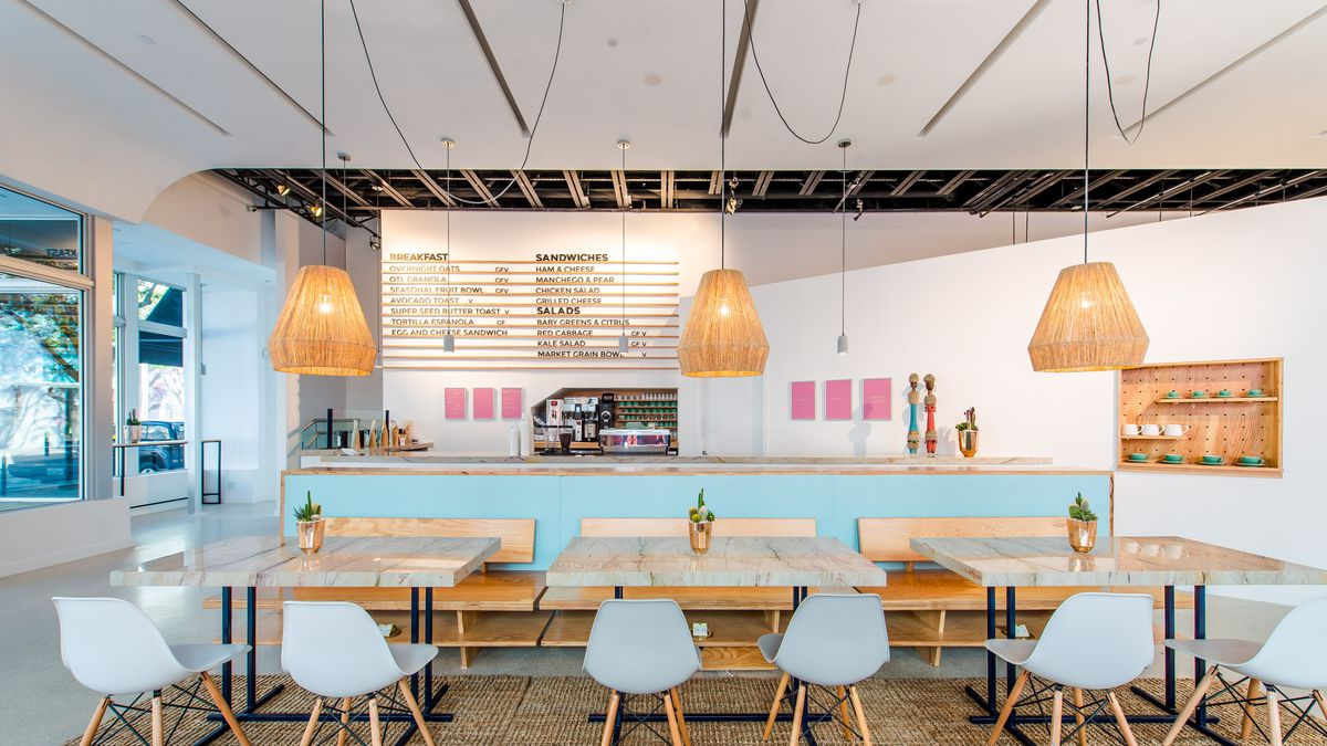 Take a Look Inside OTL, the Design District\'s New Bright, Laid-Back ...