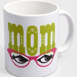"""<a href=""""http://www.fredflare.com/mother-s-day/Mom-s-Mug/""""> Fred Flare Mom's Mug<a>, $14, fredflare.com"""