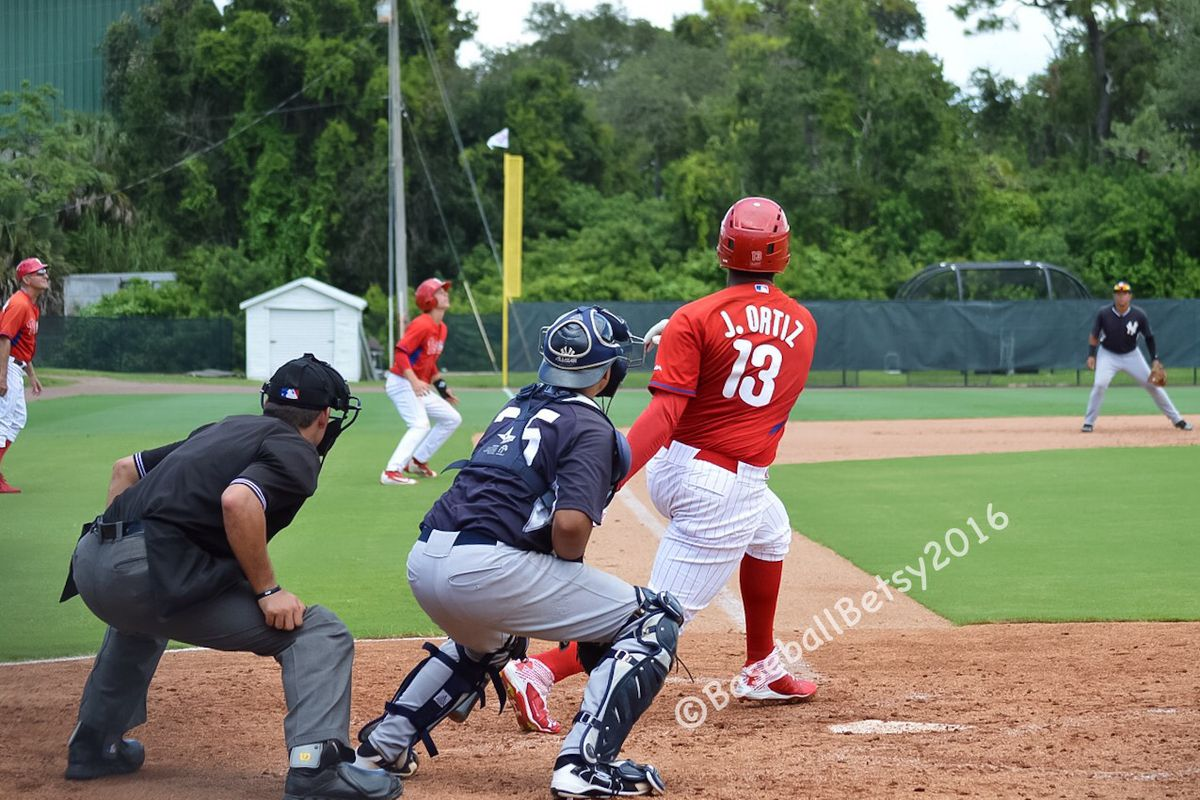 Jhailyn Ortiz headlines a stacked GCL Phillies offense