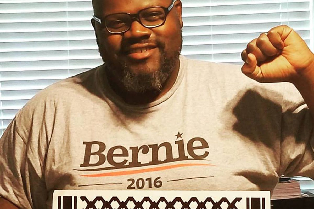"""""""This isn't theory for us. It's reality:"""" Pastor Ray Shawn McKinnon offers the Berner's case for Hillary Clinton in the fall."""