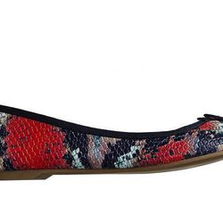 """<b>Gap</b> Snakeskin Leather Ballet Flats, <a href=""""http://www.gap.com/browse/product.do?cid=85615&vid=1&pid=942191022"""">$44.95</a>"""