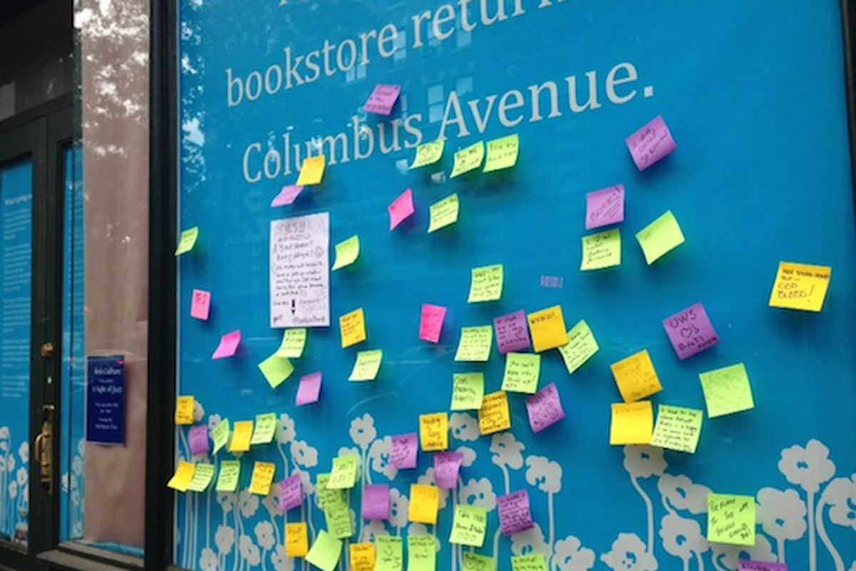 """Image via<a href=""""http://www.westsiderag.com/2014/10/02/book-culture-building-excitement-for-new-store-on-columbus"""">West Side Rag</a>"""
