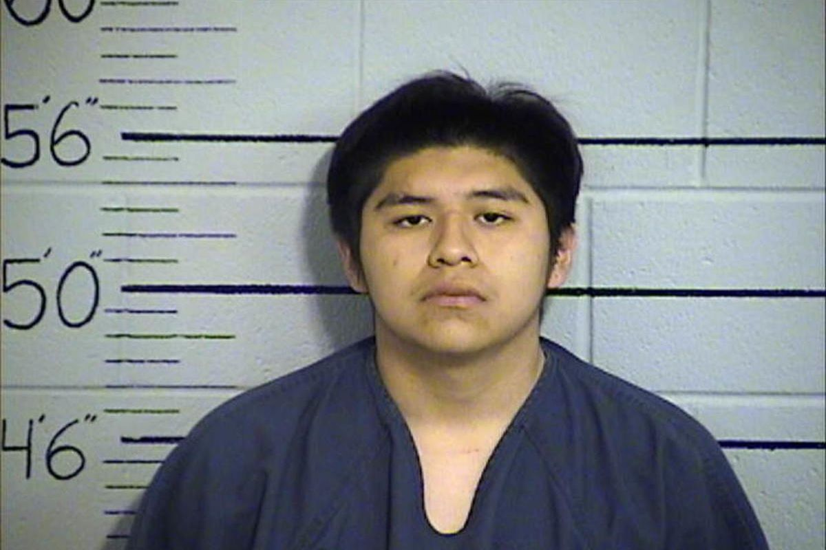 Deland Anston Cornpeach, 19, was arrested for investigation of homicide in connection with the June 20, 2017, death of Eli Ray Poowegup, 38, on the Uintah-Ouray Indian Reservation.