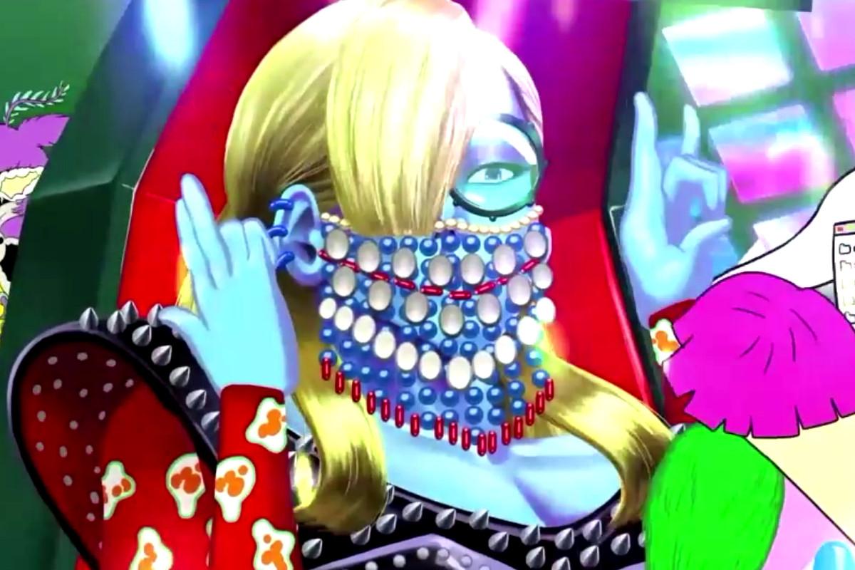 Velvet Chair Girl boss battle from No More Heroes 3