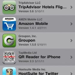 If you want it on your mobile, make sure you update all your apps.