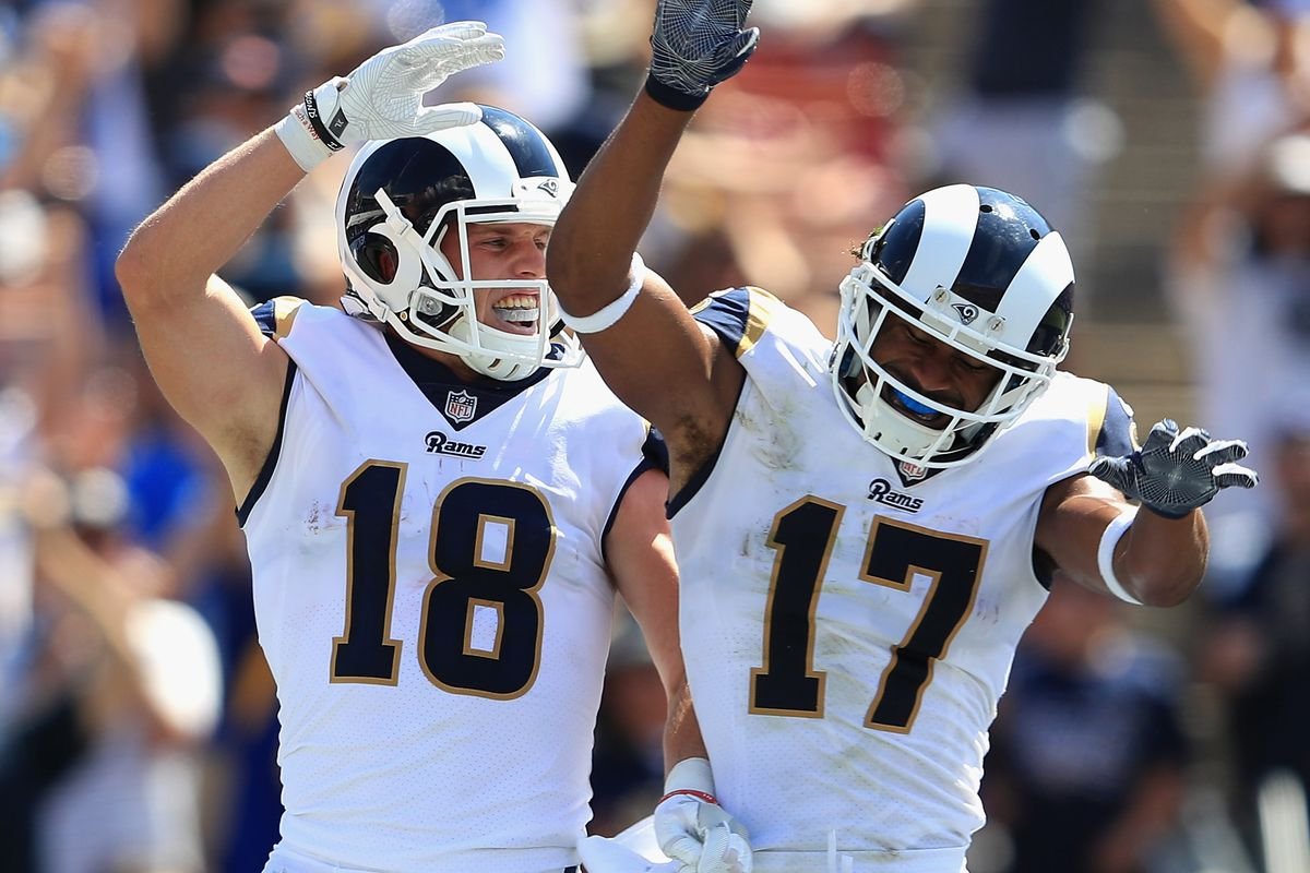 Who had the better 2019 season: Cooper Kupp or Robert Woods? - Turf Show  Times