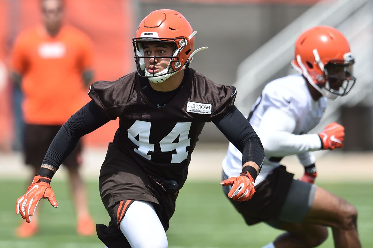 Cleveland Browns sign 3rd round draft pick, LB Sione Takitaki
