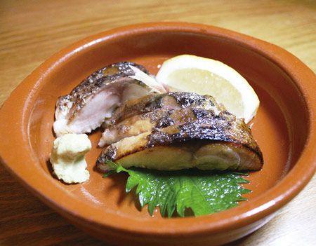 Mackerel at YoKoya, a restaurant in Camden