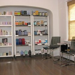 Products come from lines such as Kevin Murphy, Bumble and Bumble, and Dermalogica.