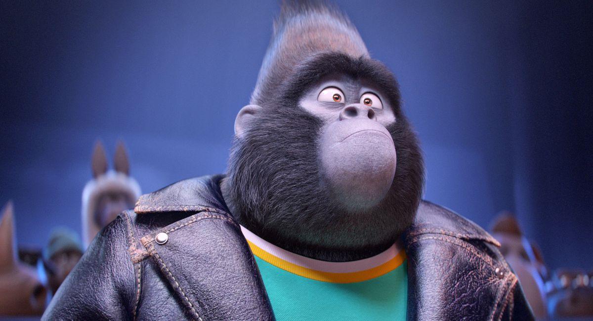 Johnny the gorilla in Sing