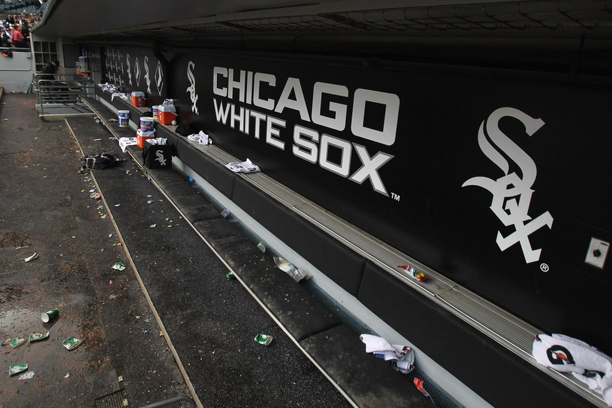 Pictured: The 2011 White Sox's steely resolve. OK, it's probably aluminum.