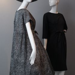 Yves Saint Laurent's tent dresses were the designer's first big hit during his tenure at Dior