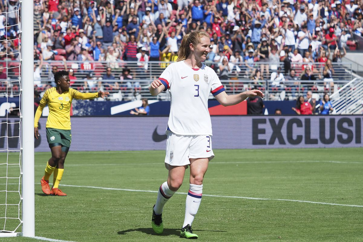 Soccer: Countdown to the Cup Women's Soccer-South Africa at USA