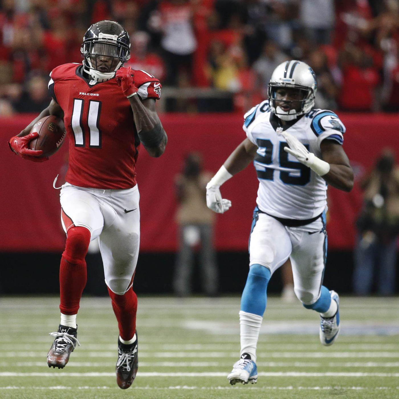 Panthers Cut Starting Cornerback Less Than A Week After Julio Jones Racked Up 300 Yards Sbnation Com