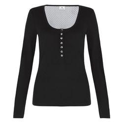 Swiss Dot Henley in Black, $17.99 (Available on Net-A-Porter)