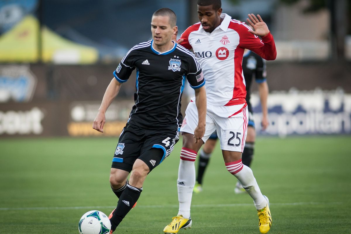 Sam Cronin - one of three players on the current Quakes squad with Toronto ties
