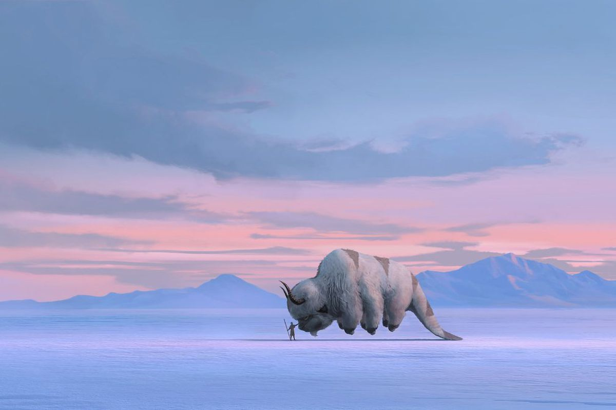 """20180918 Concept art for """"Avatar: The Last Airbender""""."""