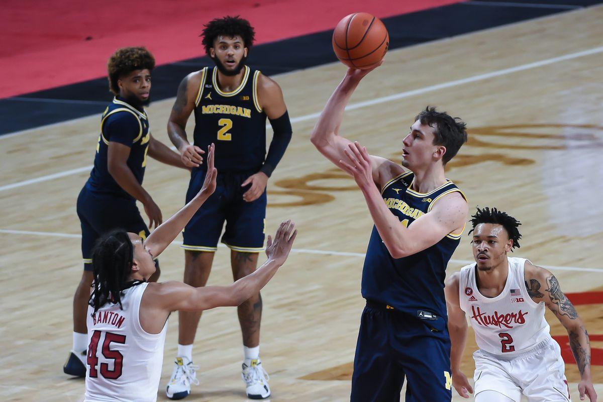 NCAA Basketball: Michigan at Nebraska