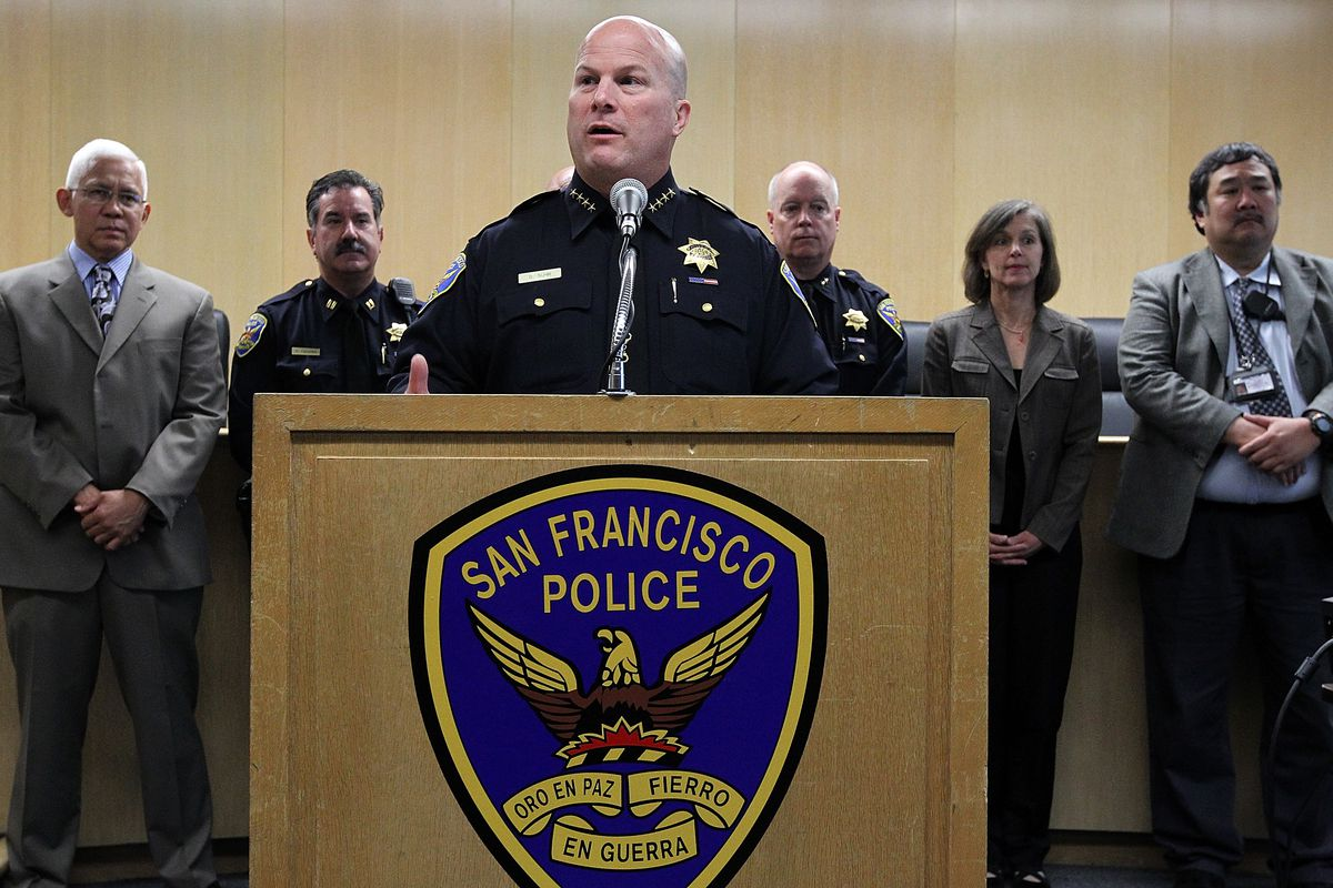 San Francisco Police Chief Greg Suhr has officially resigned from his post after a string of police shootings and racist texting scandals.