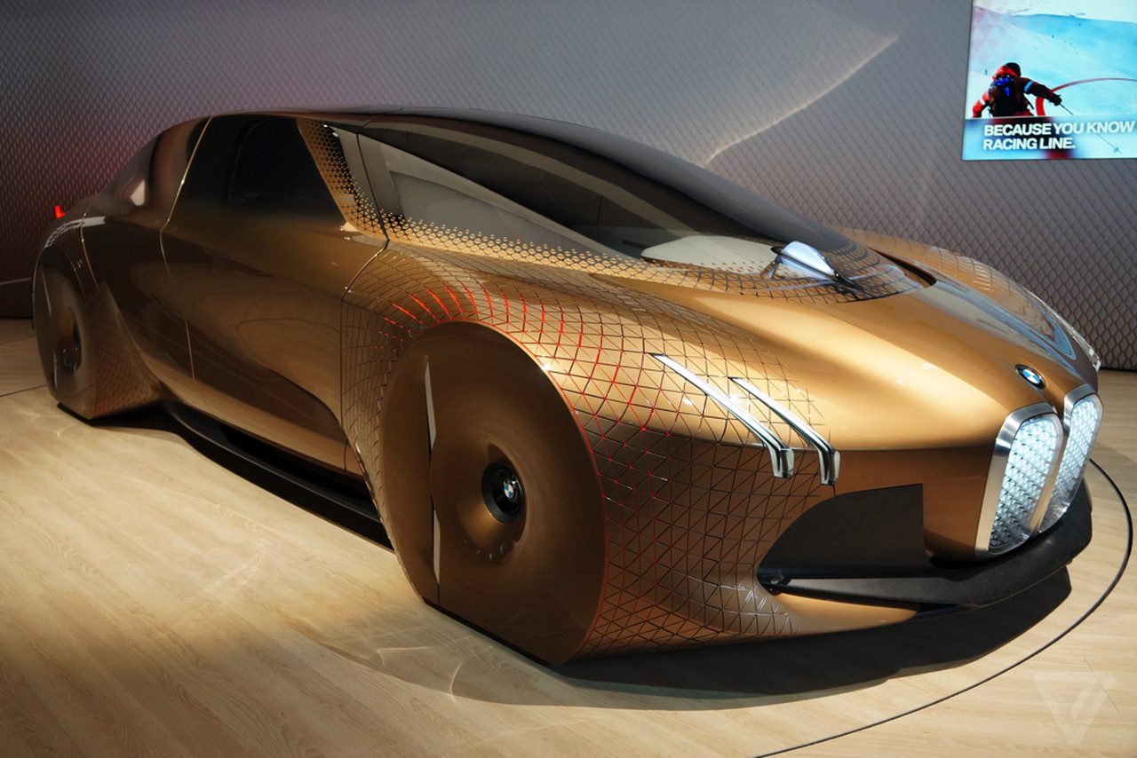 BMW's Vision Next 100 is the concept car of my childhood dreams ...