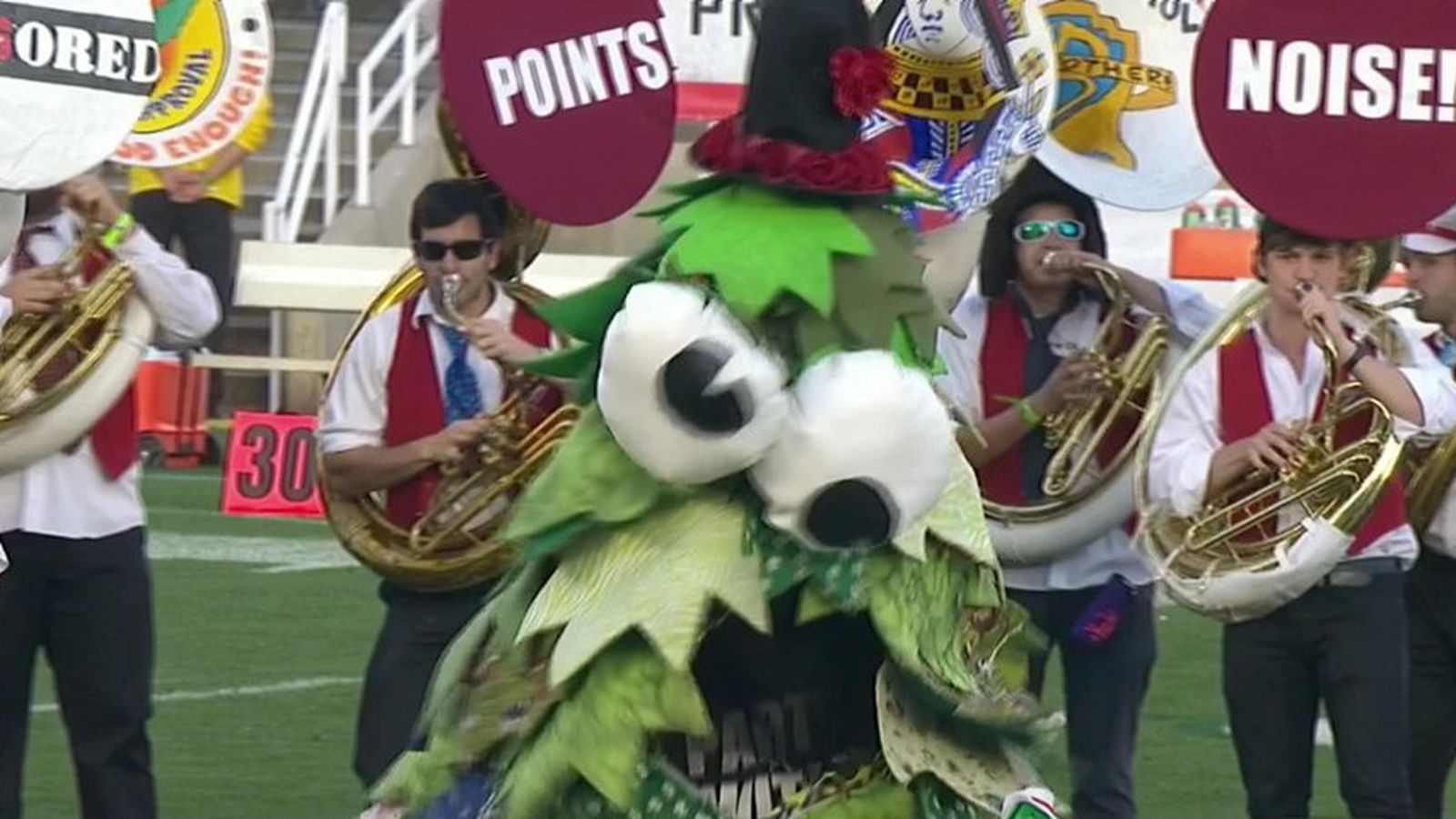 Stanford band ruins 2014 Rose Bowl (for boring people ...