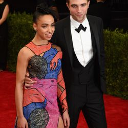 FKA Twigs in Christopher Kane and Robert Pattinson