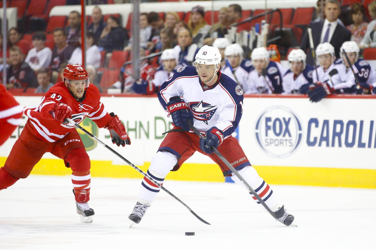 The Canes lost to the Jackets 5-4 in preseason action at the PNC last September