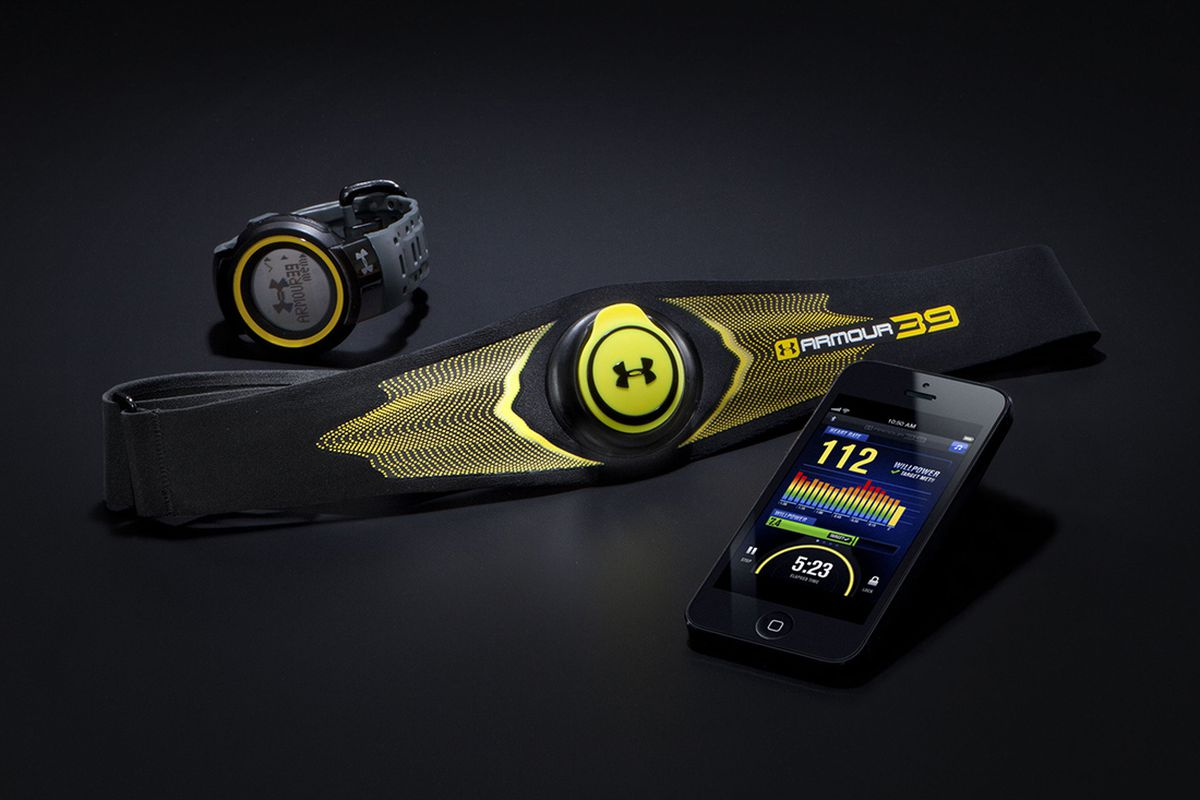Under Armour Armour39 heart rate (press)