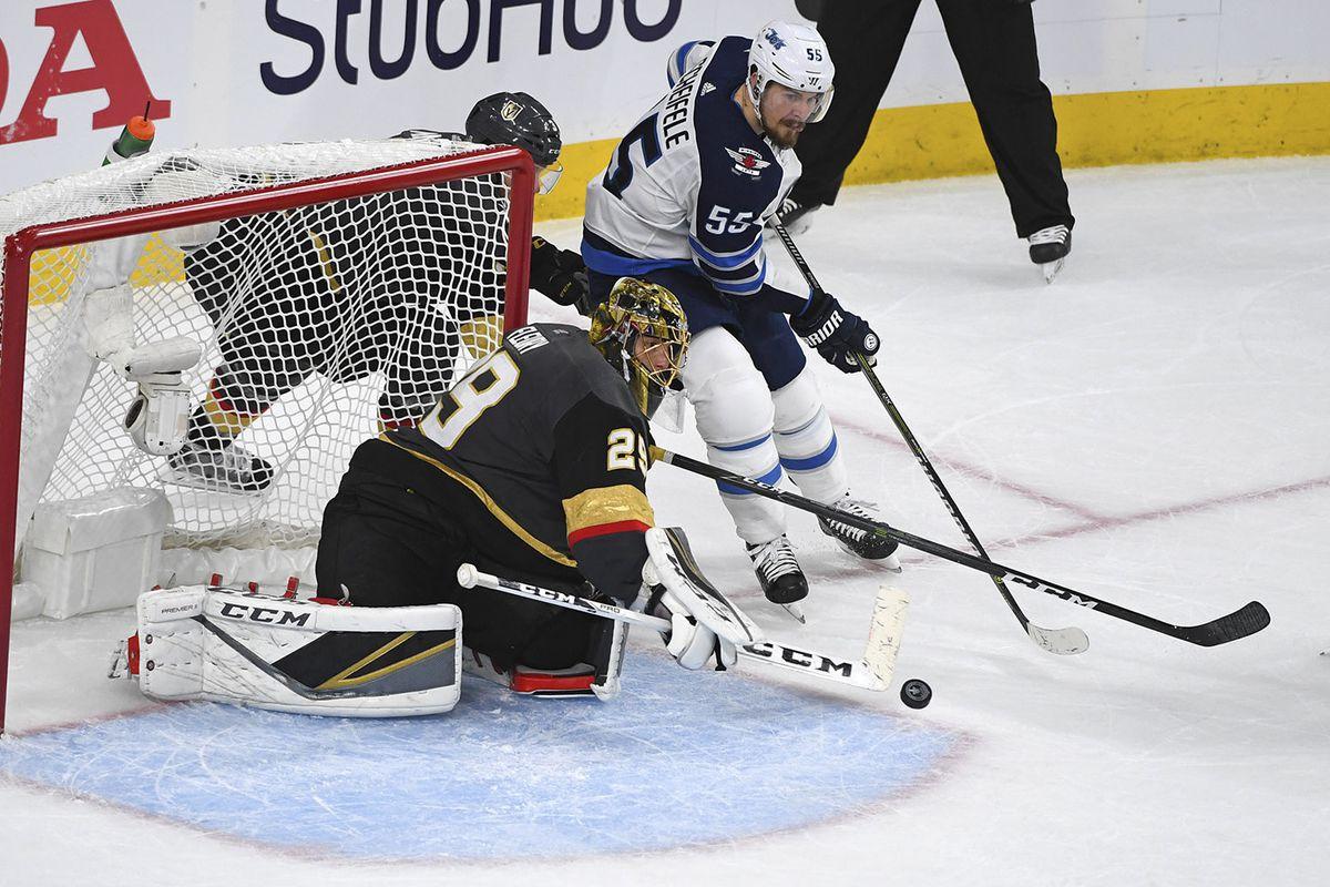 NHL: Stanley Cup Playoffs-Winnipeg Jets at Vegas Golden Knights