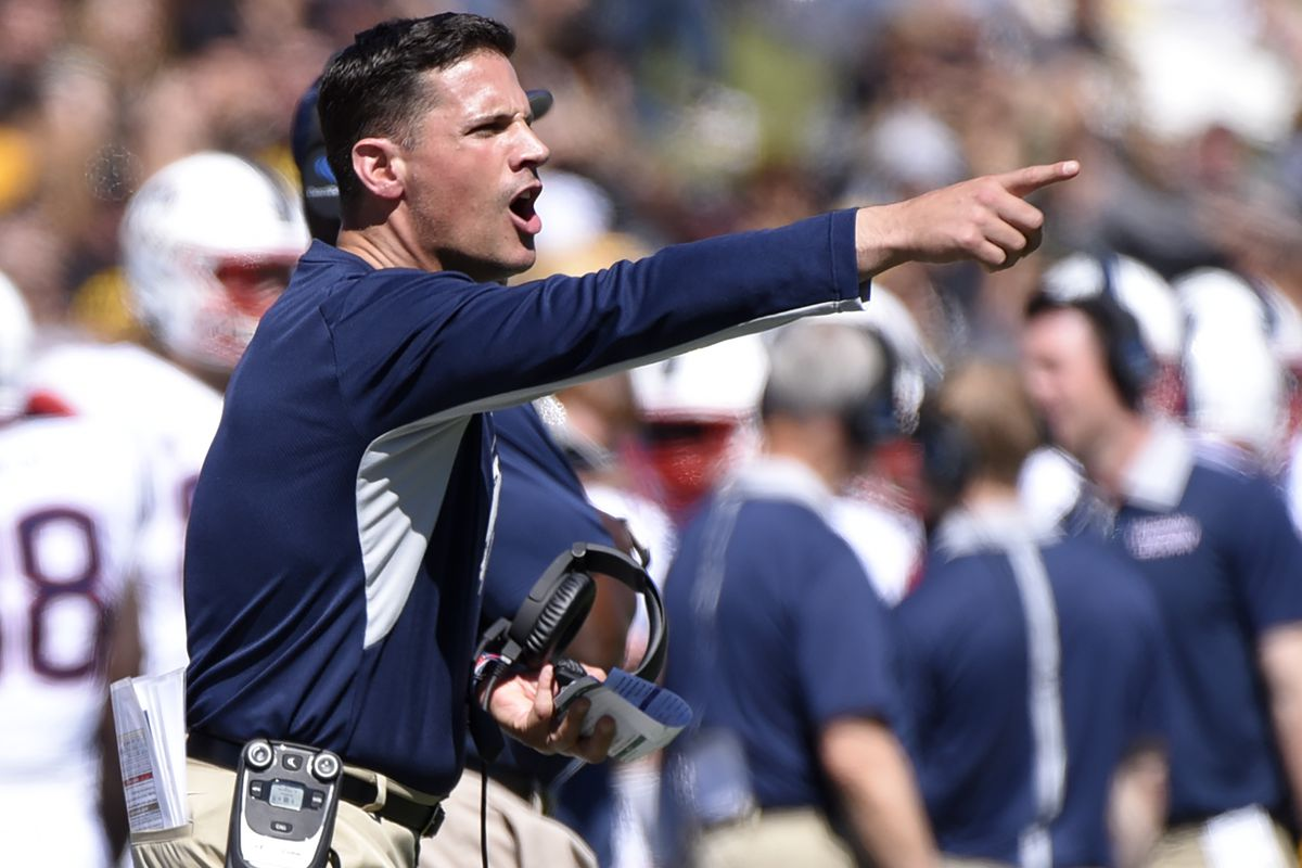 UConn head coach Bob Diaco looks for revenge after last year's 35-10 loss to BYU.