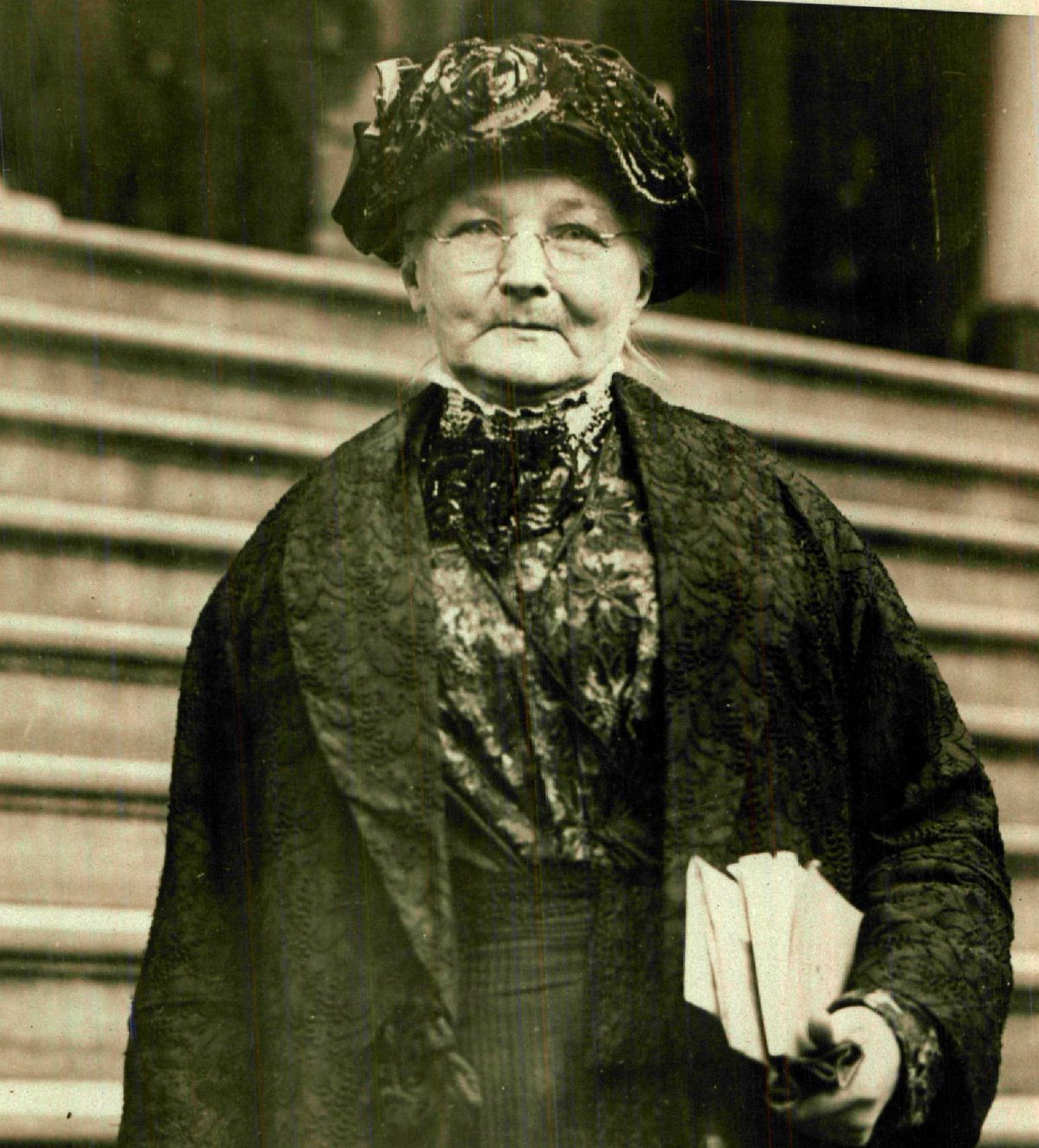 """Mary Jones survived the Great Chicago Fire, was inspired to become active in a burgeoning labor movement and eventually became known as """"Mother Jones."""""""