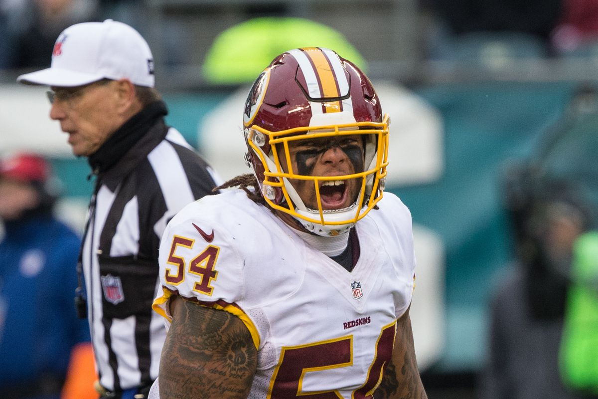 the latest 4df63 49305 Report: Redskins are releasing ILB Mason Foster - Hogs Haven