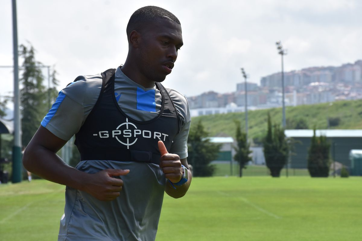 Trabzonspor's training session in Trabzon
