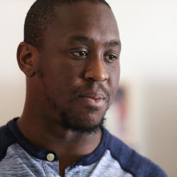 Lamar Ross talks about how his family believes his uncle, Patrick Harmon, was murdered. Harmon was shot and killed by a Salt Lake City police officer in August. Ross shared his thoughts from his home in Ogden on Monday, Oct. 9, 2017.