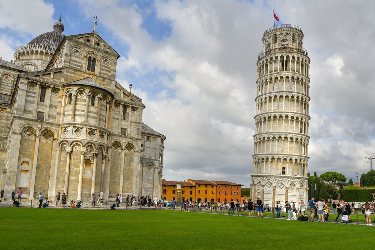 Leaning Tower Of Pisa Straightening Its Posture