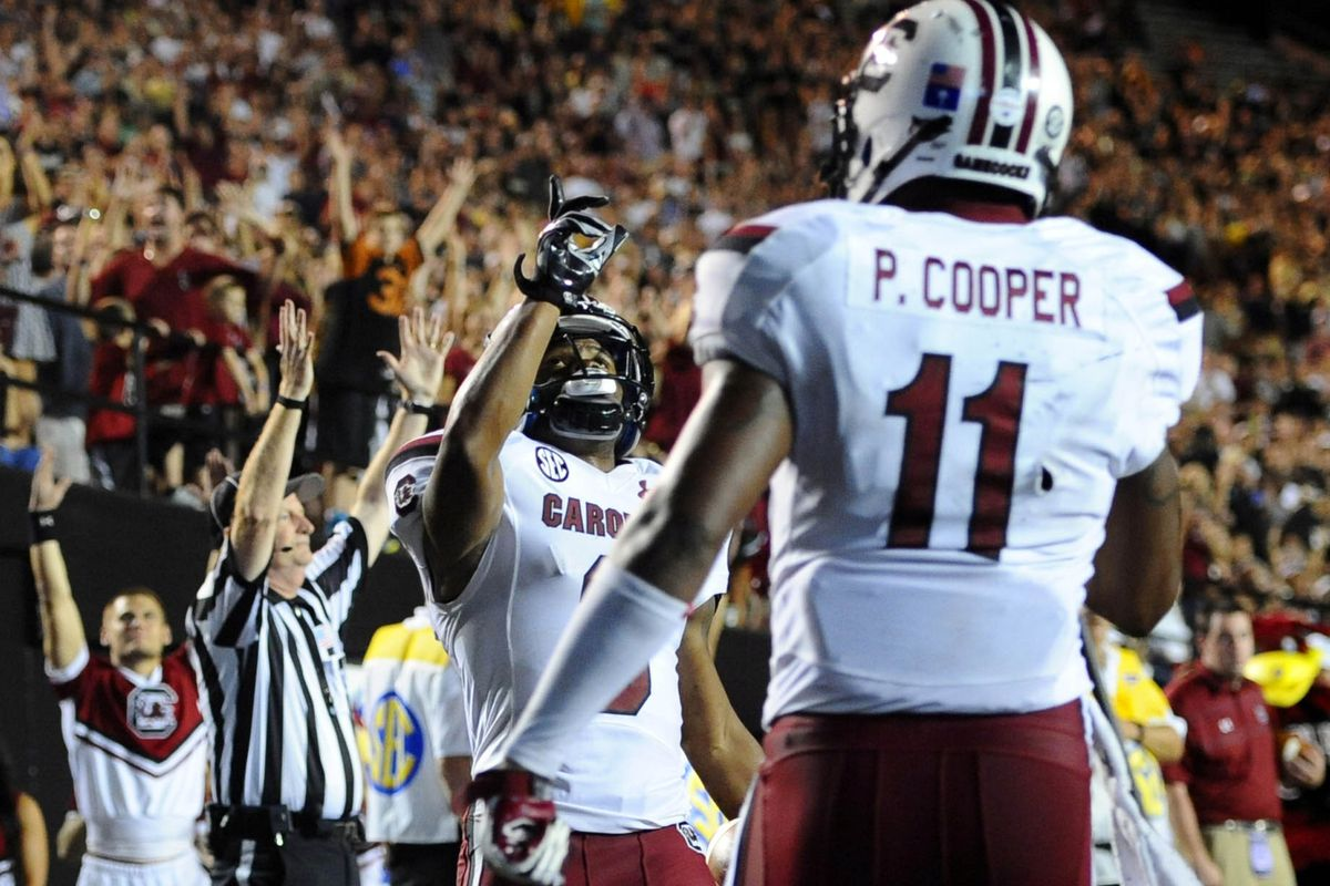 The Gamecocks need to celebrate touchdowns on Saturday if they want to beat Missouri.